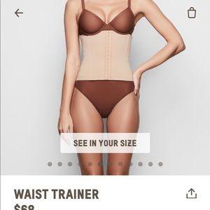 Skims waist trainer